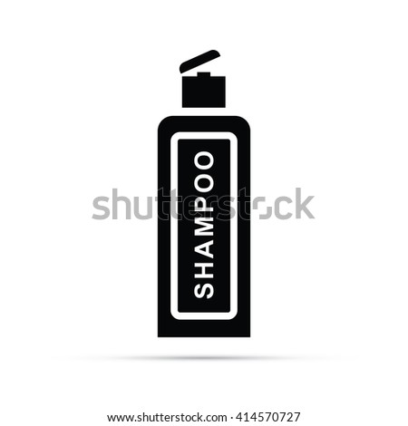 Shampoo Icon - stock vector