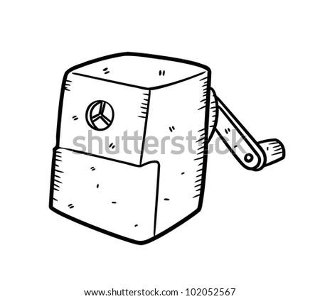 sharpener - stock vector