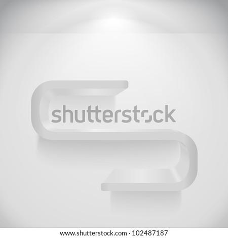 Shelf, vector eps10 illustration - stock vector
