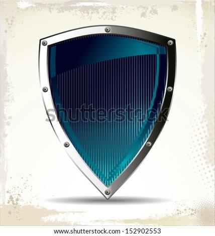 Shield - stock vector