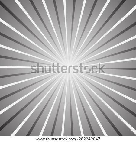 Shine vector. Sunburst vector. Black white Sunburst for multiply layer. Sunburst vector for blending Mode. Sunrise vector splash. Kamikaze vector. Sunshine art vector. Explode vector. Splash vector. - stock vector
