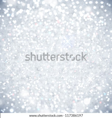 Shining in sun snow. Eps 10 - stock vector