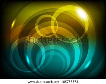 Shiny abstract background. EPS 10. - stock vector