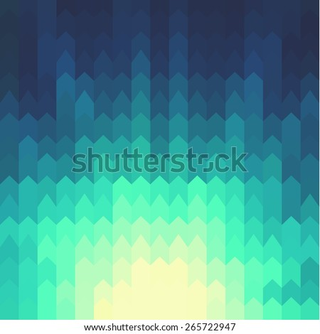 Shiny background with geometric pattern - stock vector