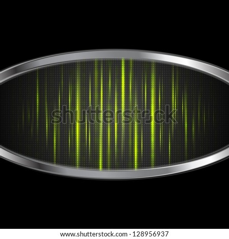 Shiny light green abstract stripes. Vector background eps 10 - stock vector