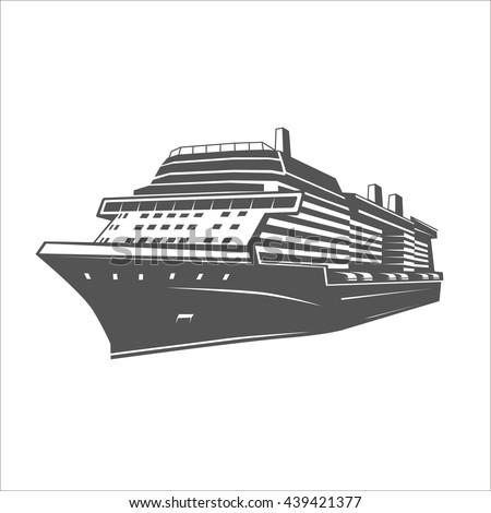 Ship. - stock vector