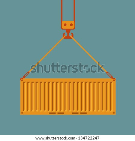 Shipping - stock vector