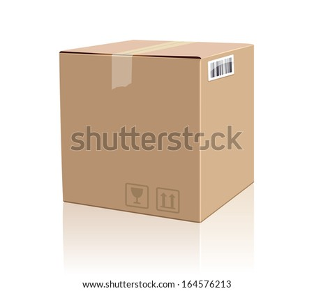 Shipping Box Stock Photos, Images, & Pictures   Shutterstock