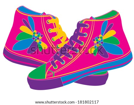 Shoes - stock vector