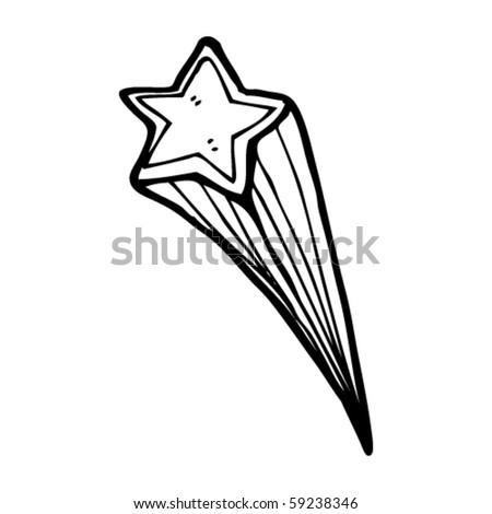 Star Cartoon Drawing Shooting Star Drawing