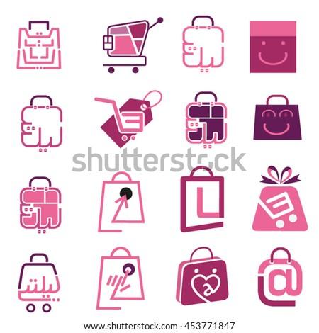 Shop Internet Market - stock vector