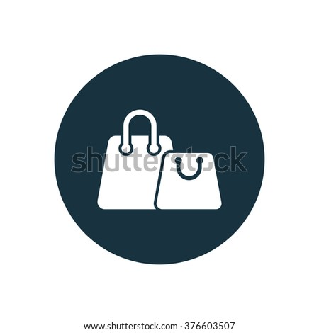 shopping bags Icon Vector. shopping bags Icon Symbol. shopping bags Icon Picture. shopping bags Icon Image. shopping bags Icon Shape. shopping bags Icon Sign. shopping bags Icon Digital - stock vector