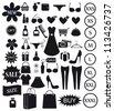 Shopping icon. Vector EPS8 - stock vector