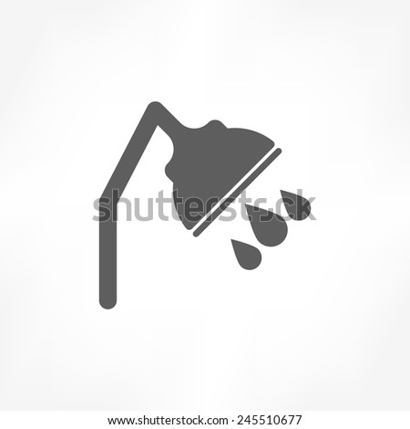 Shower Icon Vector Shower Icon