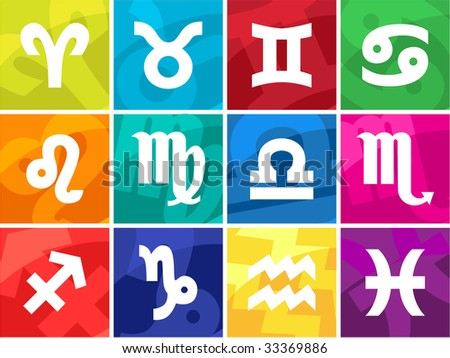 Sign of the zodiac - stock vector