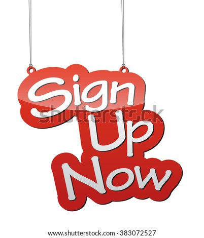 sign up now, red vector sign up now, background sign up now, illustration sign up now, tag sign up now, element sign up now, sign sign up now, design sign up now, sign up now eps10 - stock vector