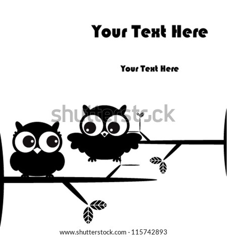 Owl on branch Stock Photos, Images, & Pictures | Shutterstock