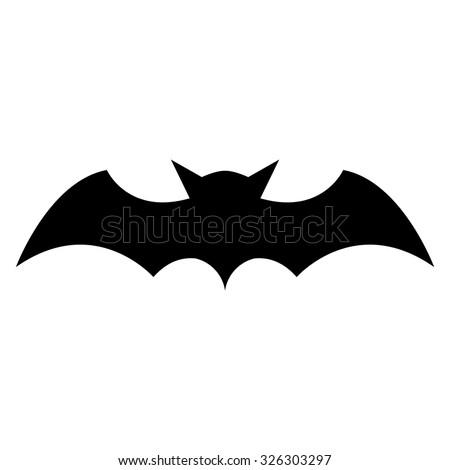 bat stock photos  images    pictures shutterstock Horseshoe Silhouette Clip Art Ravens Logo Black and White