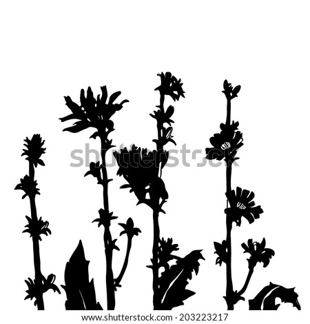 Stock Images similar to ID 56032513 - silhouettes of wild ...