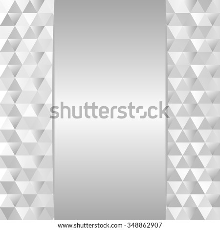 silver background with texture - stock vector