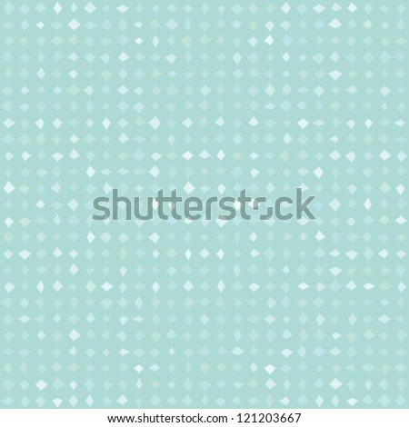 simple and elegant pattern with barely visible grey-blue geometrical shapes, website background or holiday wrapping paper or wedding invitation background, seamless vector - stock vector