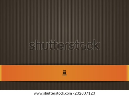 Simple background in brown color - stock vector