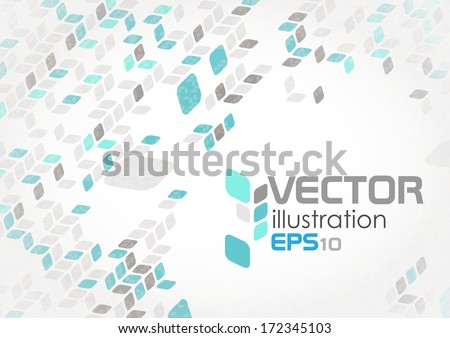 Simple Geometric Pattern. Vector Illustration. Eps 10. - stock vector