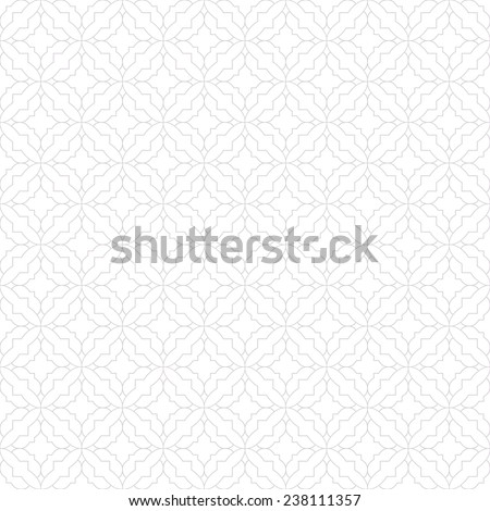 Simple gray  and white  pattern. Geometric pattern, seamless. - stock vector