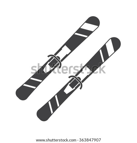 skier jumping isolated stock vectors  vector clip art