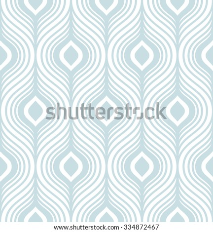 Simple stylish geometric seamless pattern. Vector illustration - stock vector
