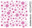 Simple vector snowflakes 2 - stock vector
