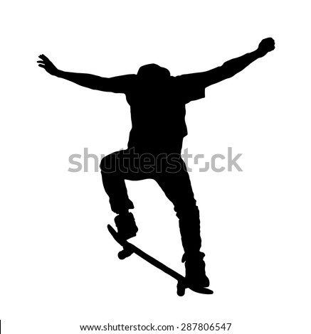 Skateboard Silhouette Stock Photos, Images, & Pictures ...