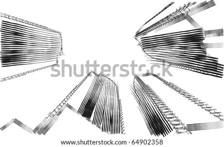 sketch - stock vector
