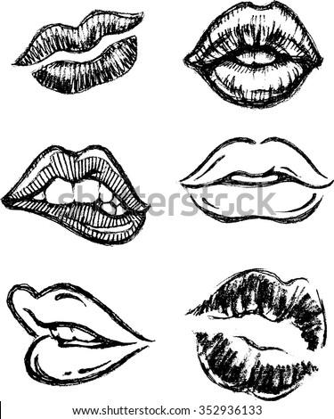 how to make fake lips to kiss