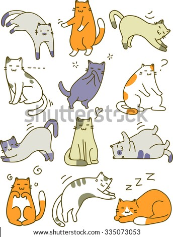 lazy cat stock photos images  pictures  shutterstock
