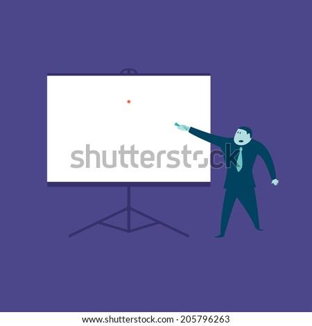 Slide Show - stock vector