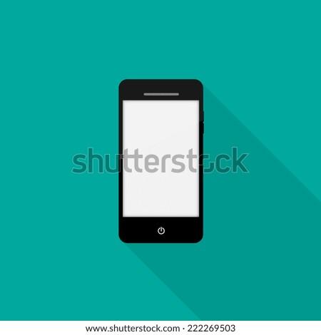 Smart phone icon - Vector - stock vector