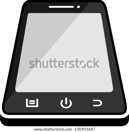 Smart Phone Mobile - stock vector