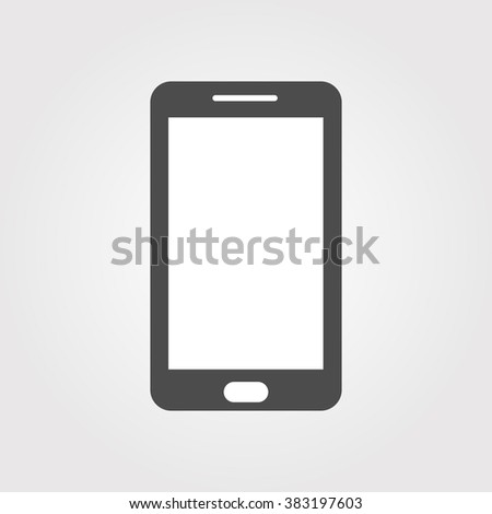 Smart Phone , smart phone isolated, mobile phone, cell phone, smart phone hand , mobile gadget - stock vector