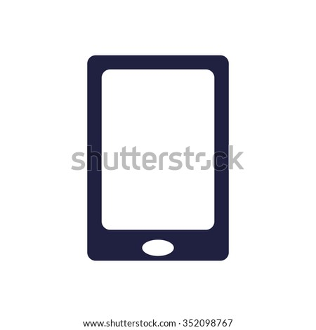 Smartphone Icon, Smartphone Icon Vector, Smartphone Icon JPG, Smartphone Icon JPEG, Smartphone Icon EPS, Smartphone Icon design - stock vector