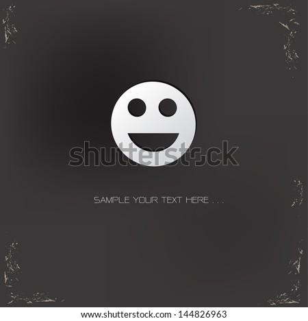 Smile,vector - stock vector