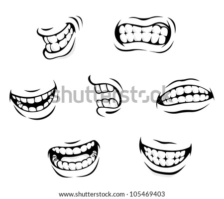 Happy cartoon smile Stock Photos, Images, & Pictures ...