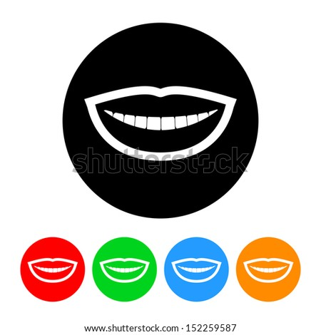 The gallery for --> Smile Mouth Icon