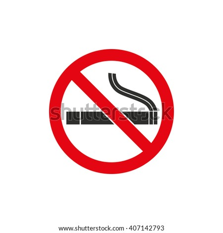 Smoke   vector icon. Black  illustration isolated on white  background for graphic and web design. - stock vector