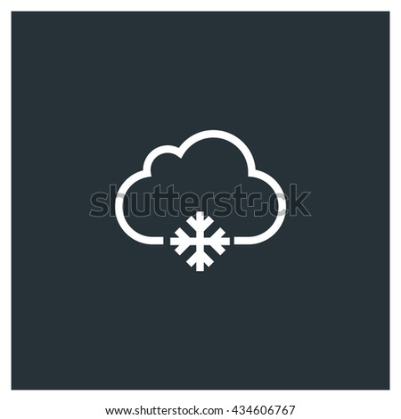 Snowing Icon, Snowing Icon UI, Snowing Icon Vector, Snowing Icon Eps, Snowing Icon Jpg, Snowing Icon Picture, Snowing Icon Flat, Snowing Icon App, Snowing Icon Web, Snowing Icon Art - stock vector