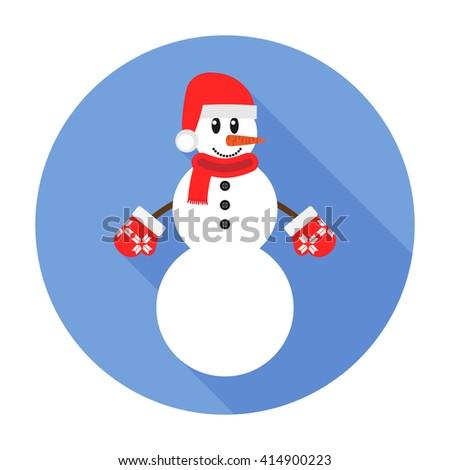 Snowman Icon. Snowman Icon flat. Snowman Icon Art. Snowman Icon eps. Snowman Icon Image. Snowman Icon logo. Snowman Icon Sign. Snowman Icon vector. Snowman Icon design. Snowman icon app. - stock vector