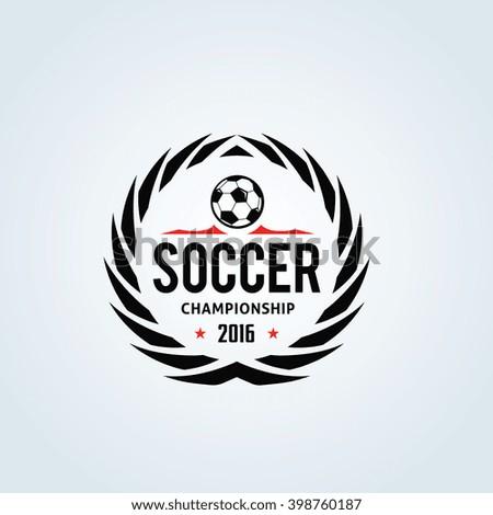 Soccer club logo,football teams logo,Vector logo template - stock vector