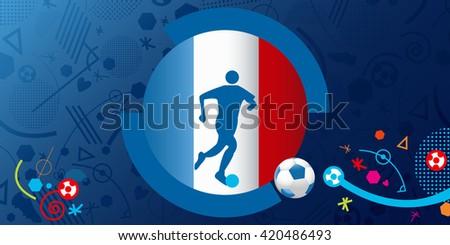 Soccer / Football symbol  - stock vector