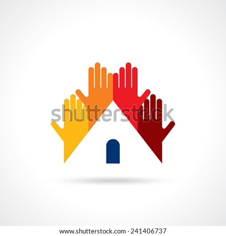 Social Cloud vector logo design template. Social Marketing Network concept symbol. - stock vector