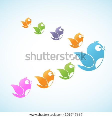 Social Media Followers - stock vector